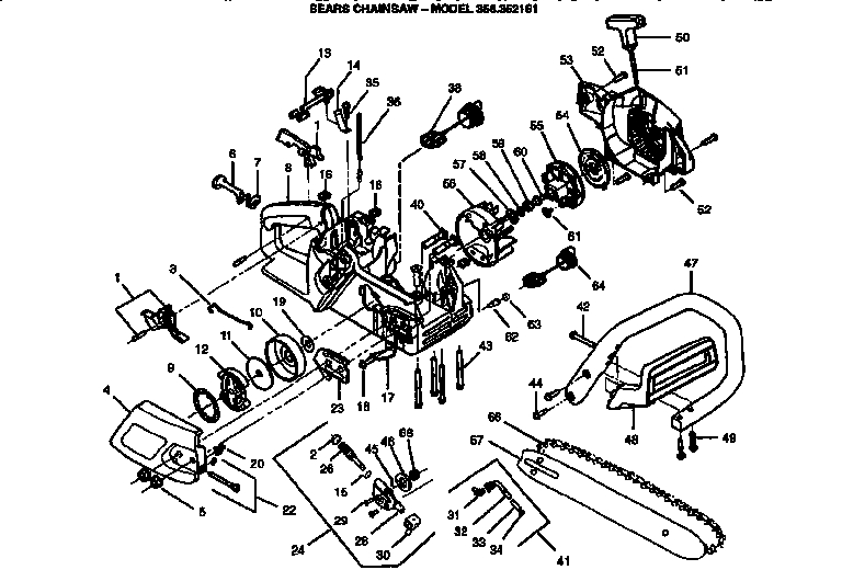 craftsman chainsaw wiring diagram free picture