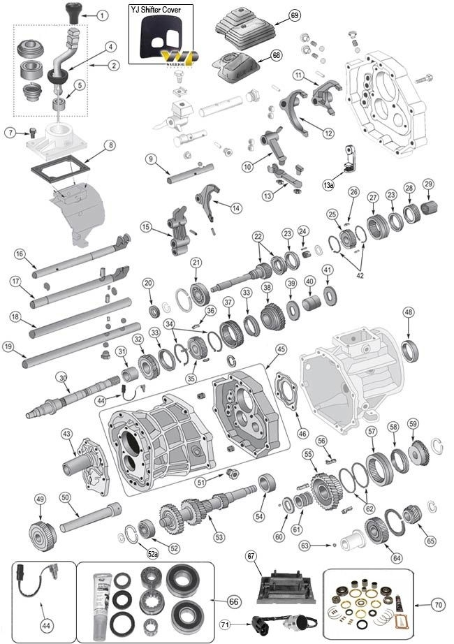 1996 jeep wrangler with 2 5 engine diagram