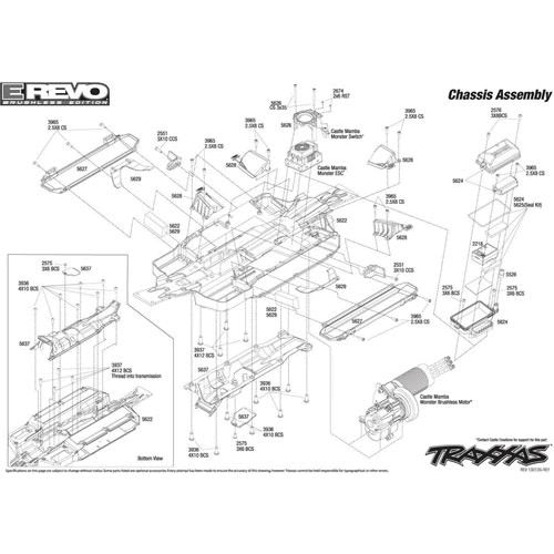 traxxas engine diagram