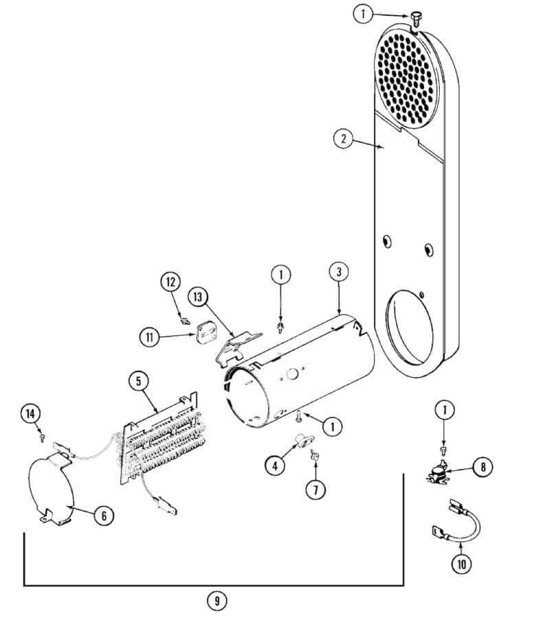 maytag electric dryer wiring diagram