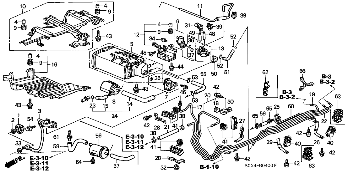 2005 honda odyssey engine diagram