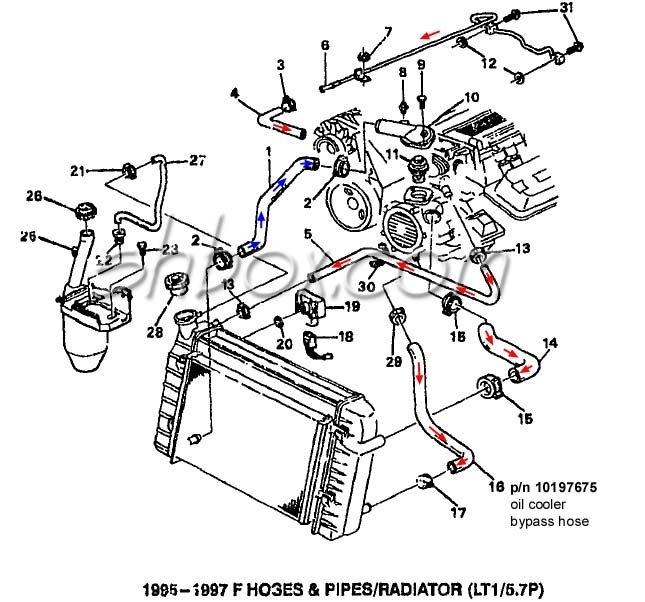 pontiac engine schematics
