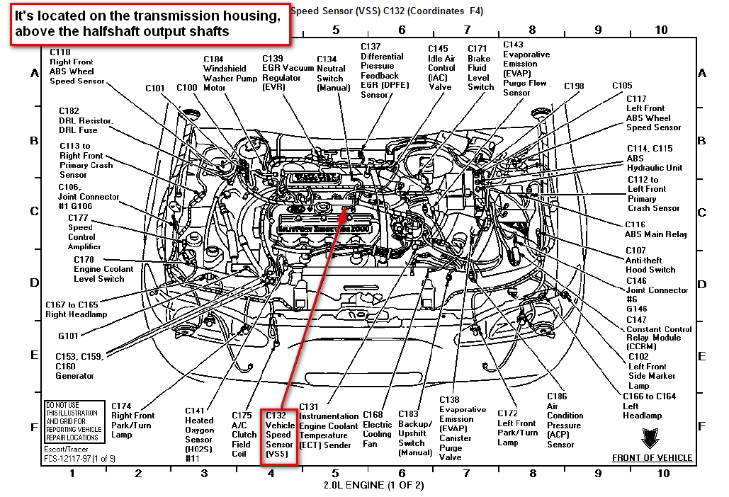 2001 ford zx2 wiring diagram