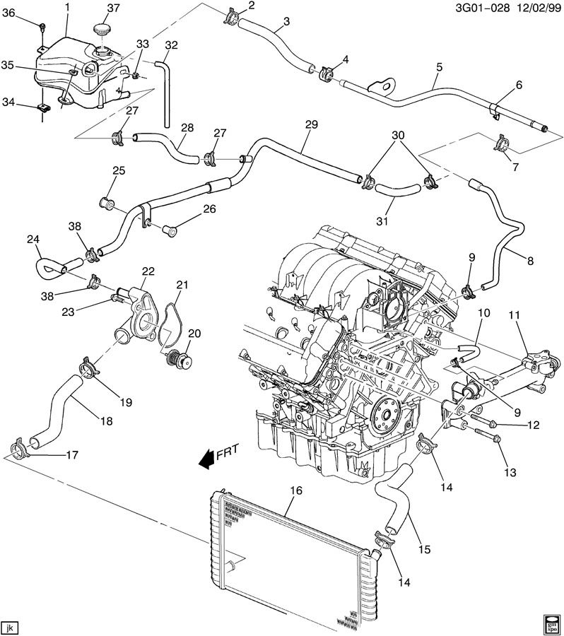 oldsmobile aurora engine wiring diagram