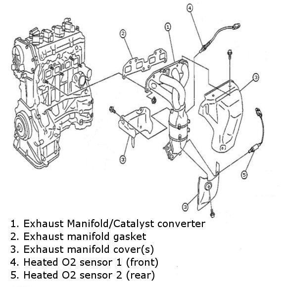 2009 nissan frontier engine diagram