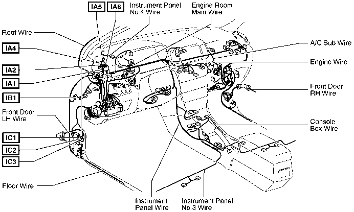 1992 corolla Motor diagram