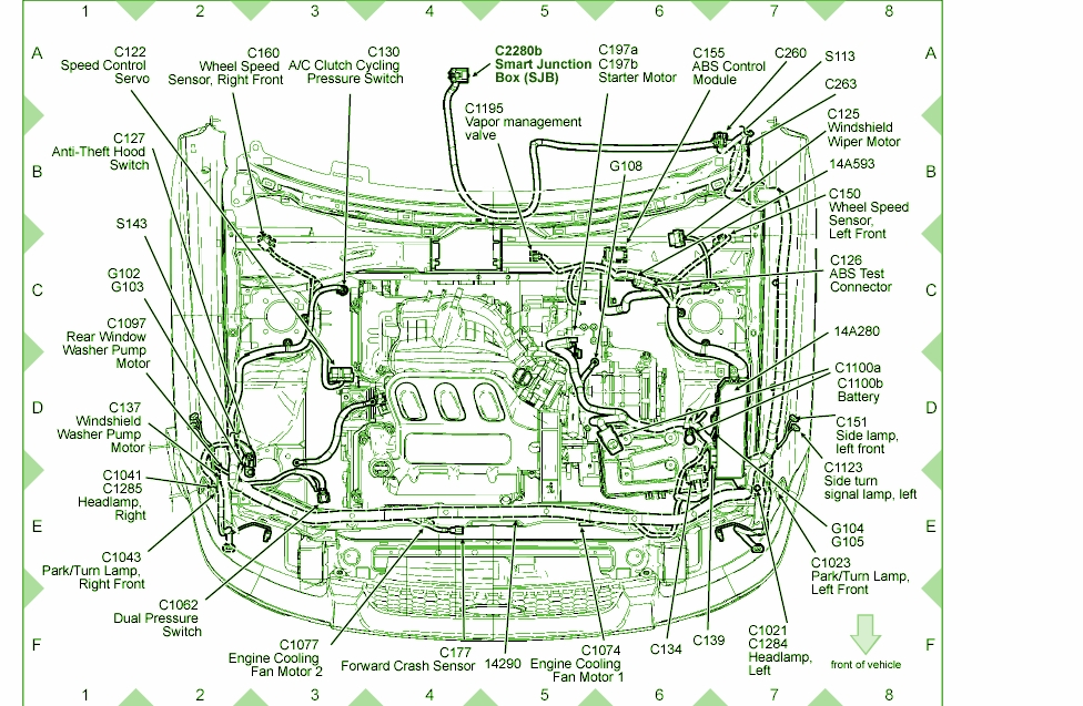 2006 ford 500 wiring diagram