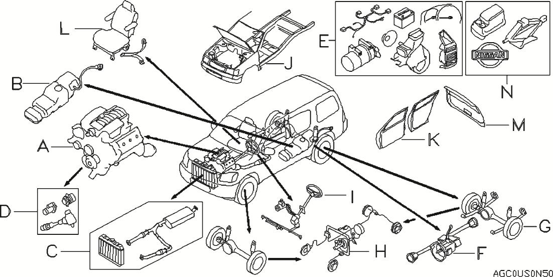 2008 nissan xterra engine diagram