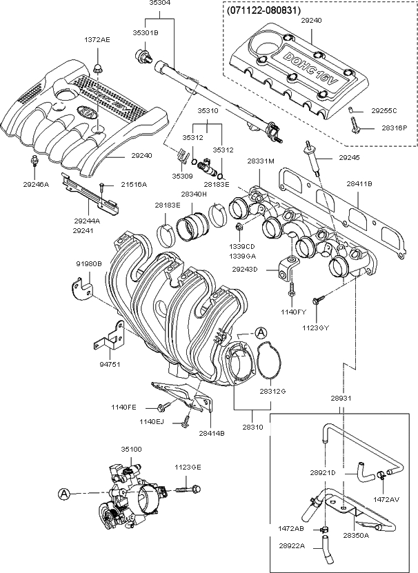 2006 kia optima lx engine diagram