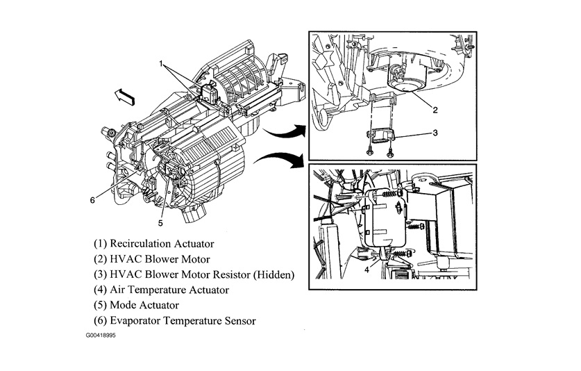 blower motor resistor location image wiring diagram engine
