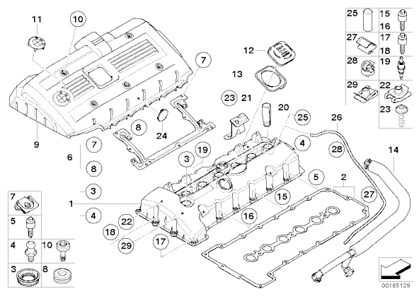 2006 bmw 325i engine bay diagram