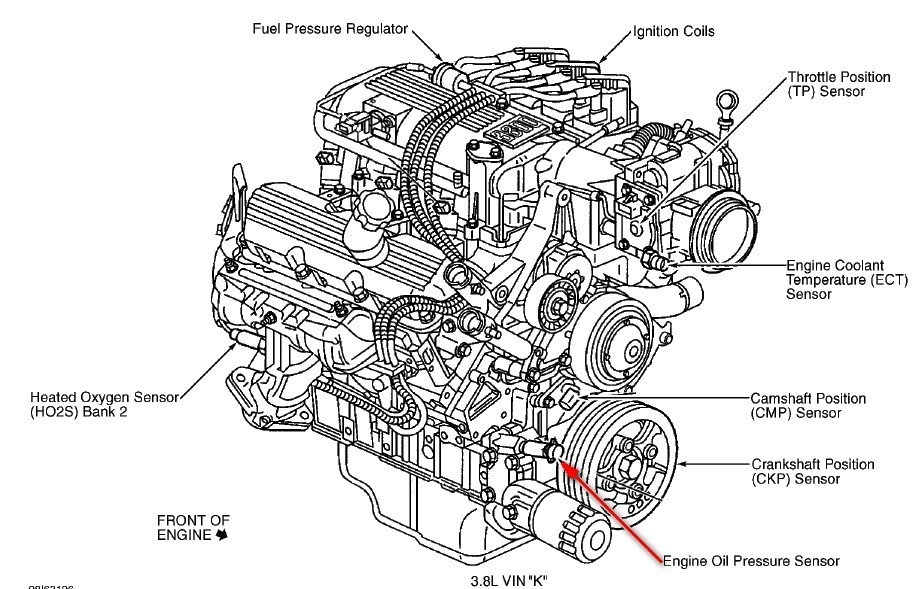 how does a car engine work diagram
