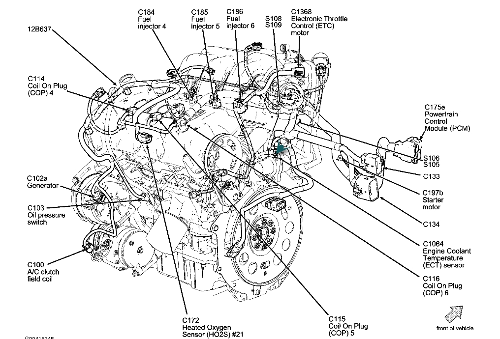 DIAGRAM FOR 2006 CHEVY UPLANDER ENGINE - Auto Electrical Wiring Diagram