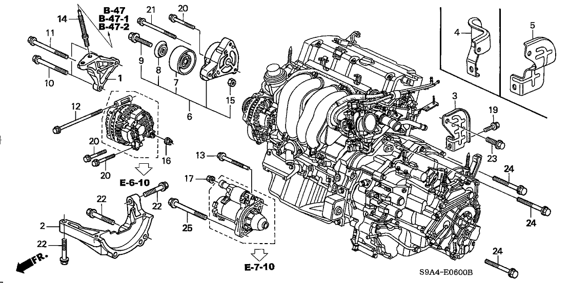 wiring diagram honda k20