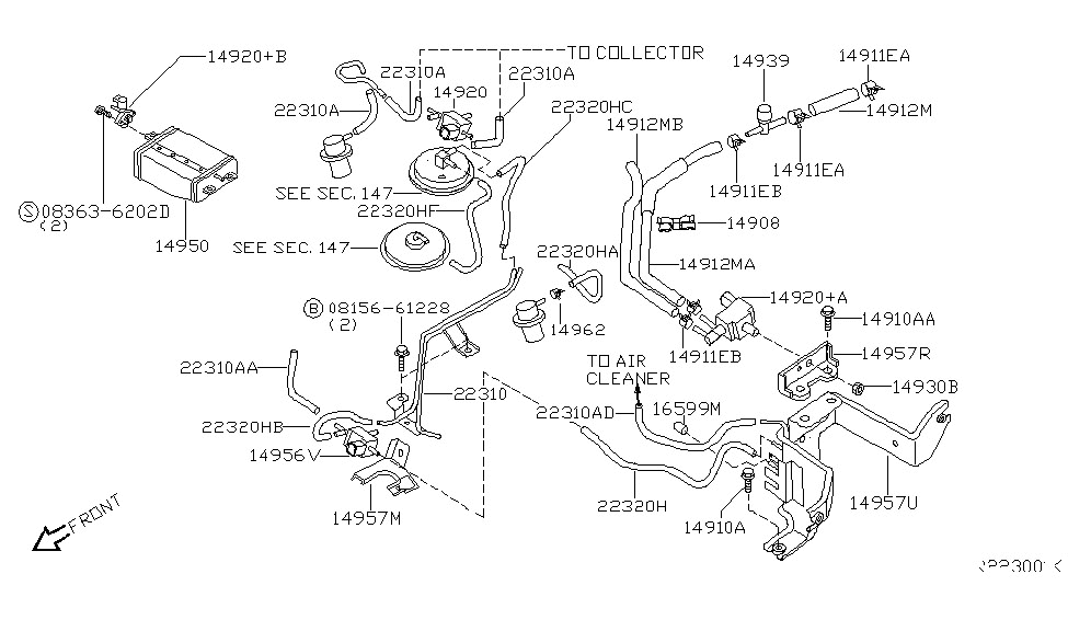 2000 nissan xterra v6 engine diagram