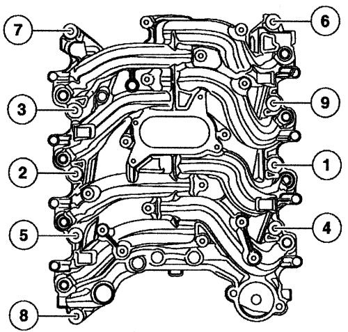460ci ford engine intake diagram