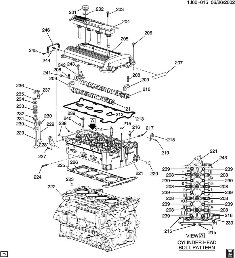 2000 alero engine diagram