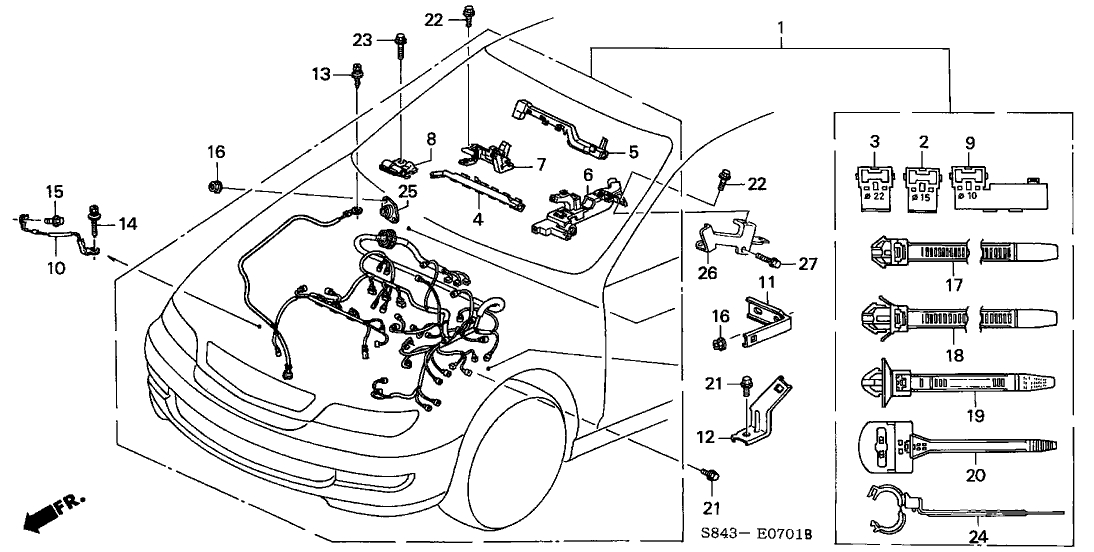 2000 honda accord 4 cylinder engine diagram