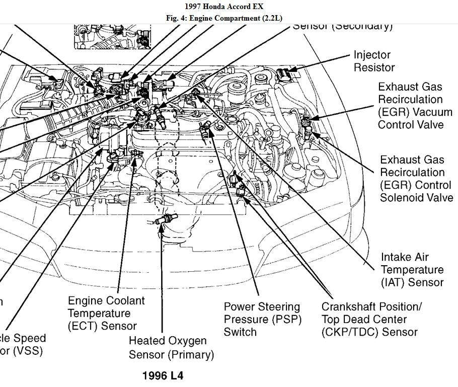 2003 honda accord engine mount diagram