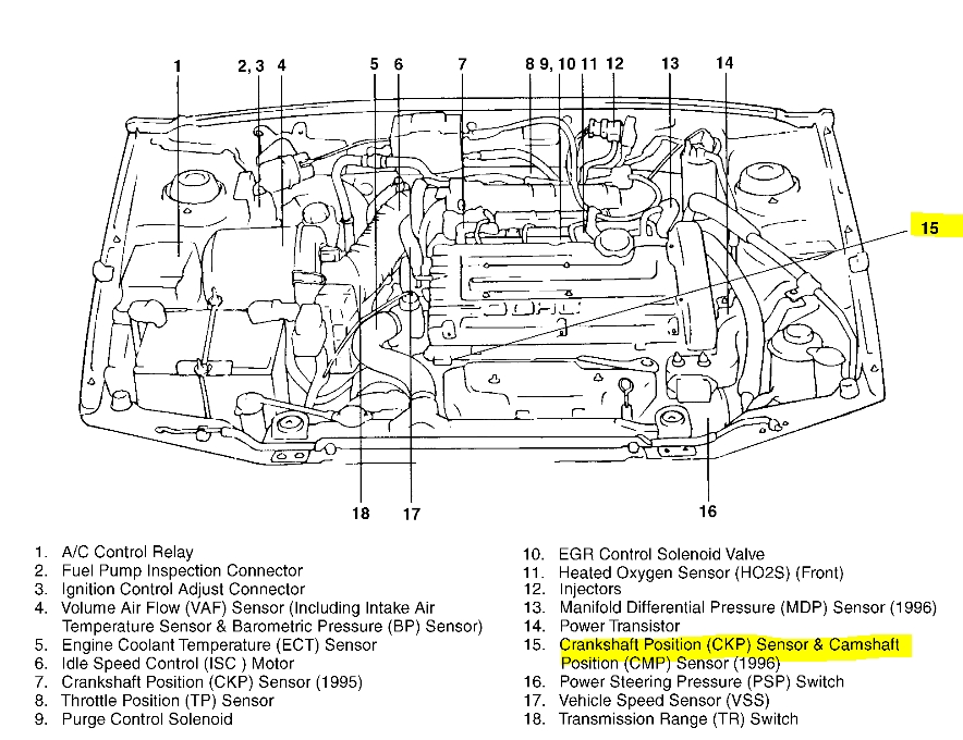 engine diagram for 2001 sonata