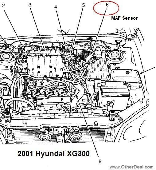 2001 hyundai accent parts diagram