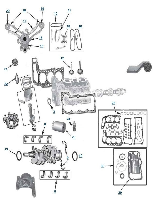 2005 jeep liberty crd engine diagram