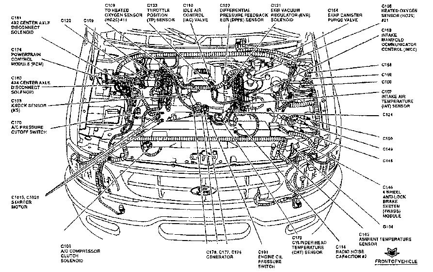 2002 Ford Explorer 4 6 Engine Diagram Wiring Schematic Diagram