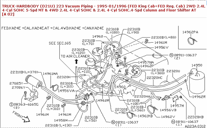 96 Nissan Maxima Engine Vacuum Diagram Schematic Diagram