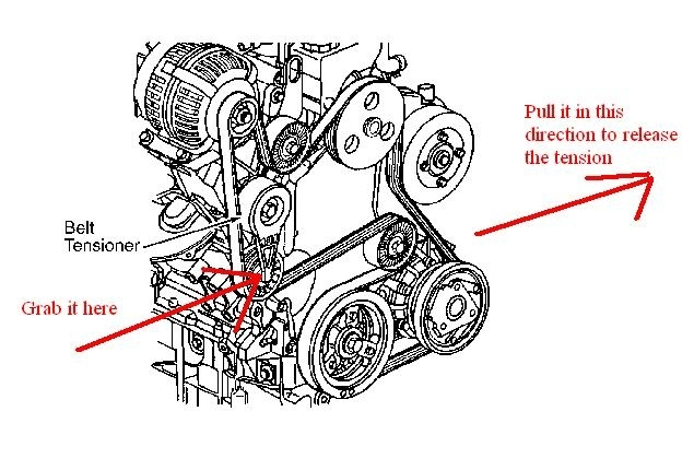 oldsmobile engine belt diagram
