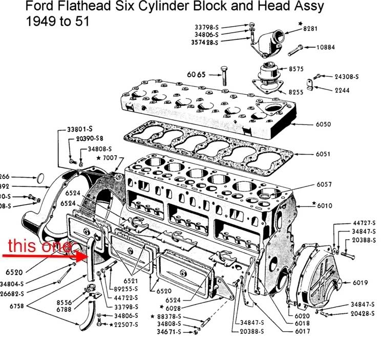 wiring diagram 1951 f1 ford truck