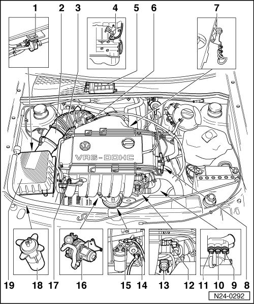 2000 vw passat engine diagram