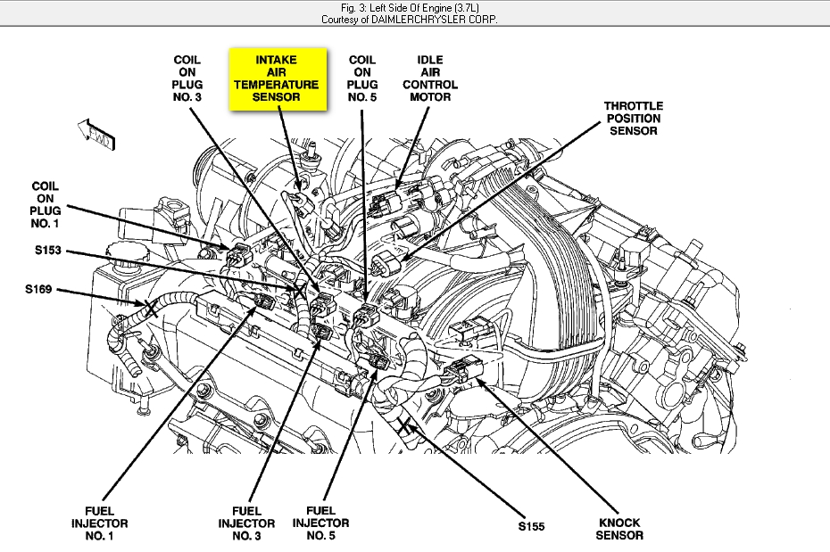 2005 jeep liberty air intake diagram