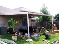 Simple Custom Patio Cover NorthWest San Antonio - Carport ...