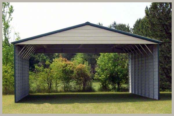 Steel Buildings A-Frame Carport
