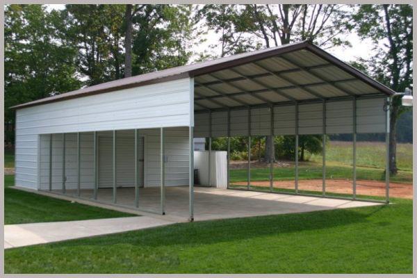 Steel Buildings Combination Carport Storage
