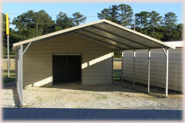 Steel Buildings Combo Photos And