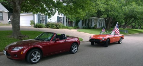Miata and MGB