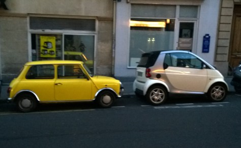 Mini and SMART in Paris