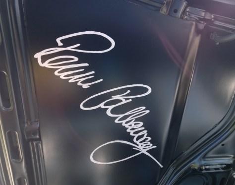 Val Herrera's Alfa Romeo Callaway GTV6 with Reeves Callaway Signed Hood