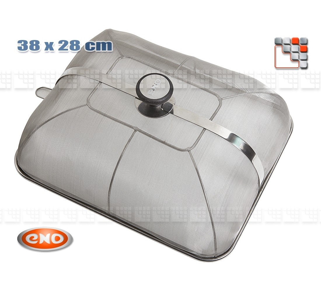 Anti Projection Cuisine Bell Stainless Steel Anti Projection 300 For Plancha Eno