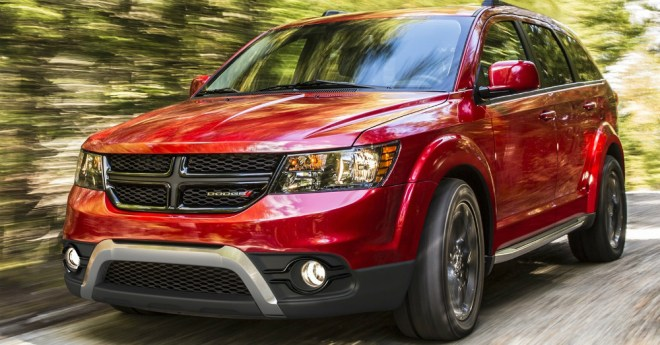 2015 Dodge Journey Red
