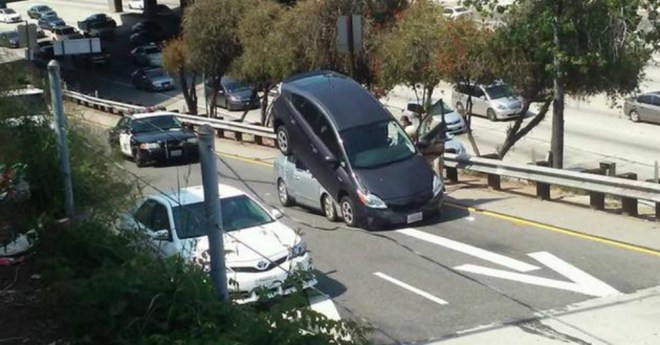 Prius in Hollywood