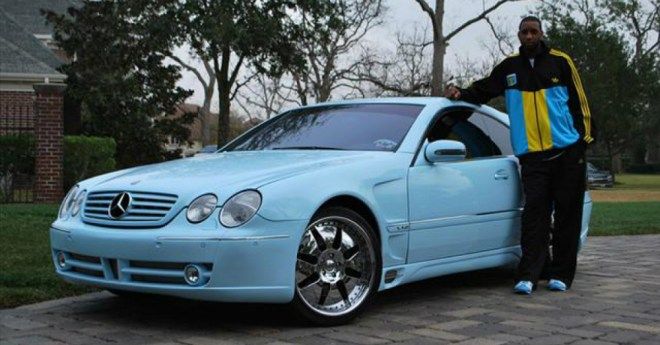 Tracy McGrady Mercedes-Benz CL600