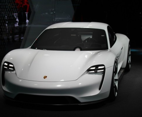 Another Tesla Fighter, the Porsche Mission E Concept