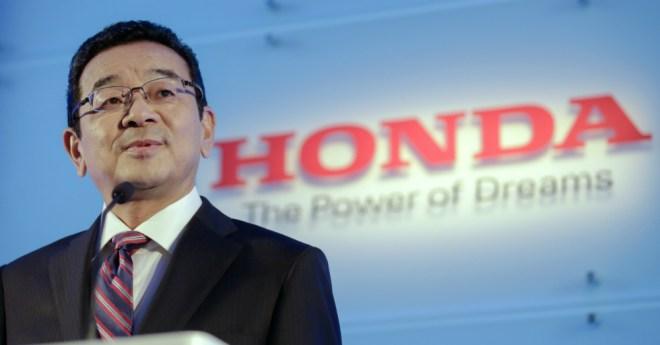 01.20.17 - Honda CEO Takahiro Hachigo