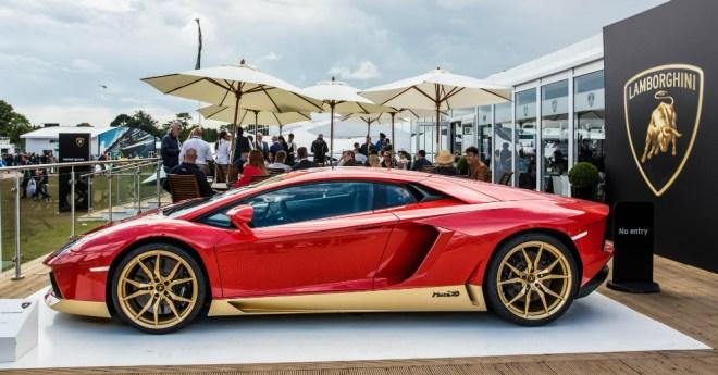 05.31.17 - Lamborghini Aventador Miura Homage