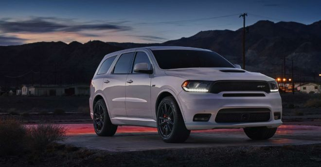 Speed in a Large SUV: Dodge Durango SRT