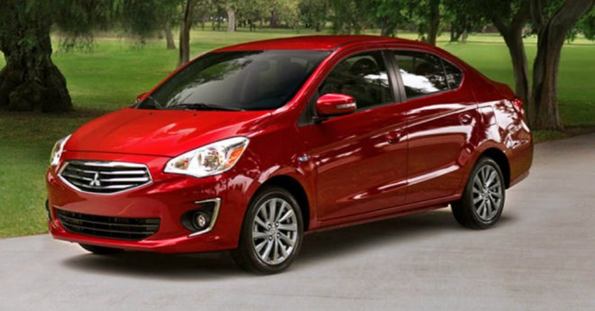 2018 Mitsubishi Mirage G4 Practical Sedan Driving