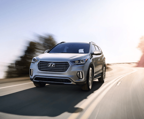 The Strength You Want in the new Hyundai Santa Fe