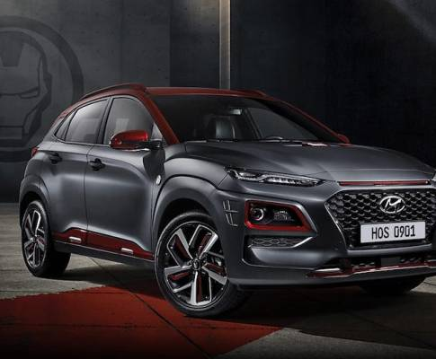 The First Iron Man Hyundai Kona Delivered